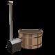 Premium Hottub Externe kachel / Beige / Red Cedar hout