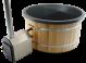Exclusive Hottub Externe kachel / Graniet zwart / Red Cedar