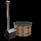 Premium Hottub Externe kachel / Graniet zwart / Red Cedar hout